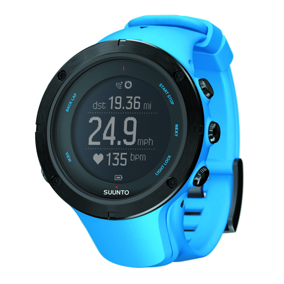 Suunto Ambit3 Peak Sapphire Blue Hr Go Outdoor Black Gps Watch For Sports Ss022306000 Perspective Negadisplay 2 Imperial